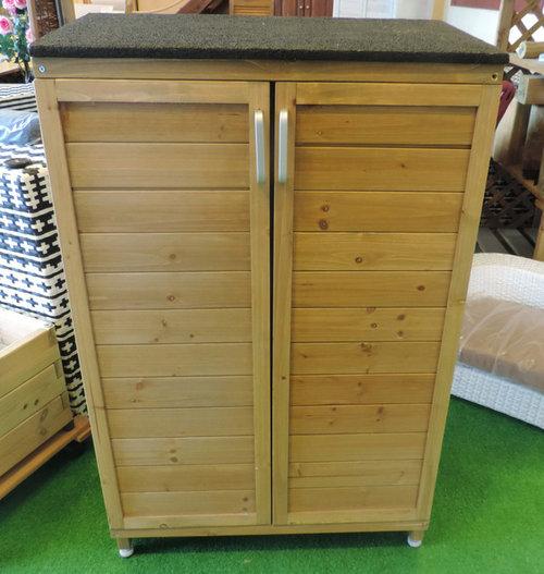 Consiglio progetto di un armadio da esterno per la raccolta differenzi - Armadi per esterno in legno ...