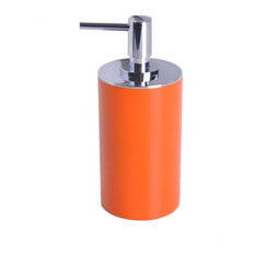 Free Standing Soap Dispenser, Orange