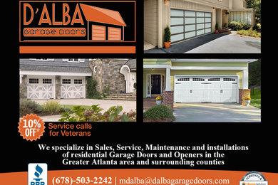 D Alba Garage Doors Marietta Ga Us, Garage Door Installation Marietta Ga