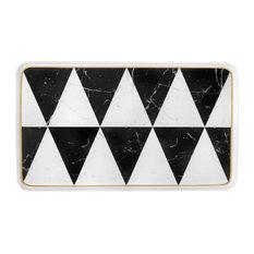 Vista Alegre Carrara Small Rectangular Platter
