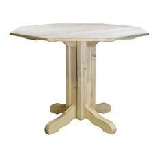 Homestead Counter Height Pub Table Clear Lacquer Finish