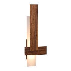 Sedo LED Wall Sconce, Wood: Oiled Walnut