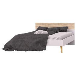 Midcentury Platform Beds by BisonOffice