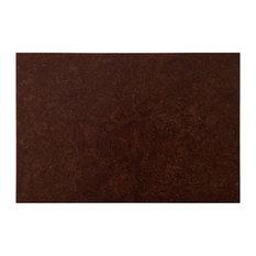 "12""x18"" Globus Cork  Tiles, Set of 28, Brown Mahogany"