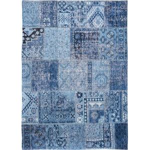 Khayma Farrago 8781 Tuareg Rug, Blue, 140x200 cm