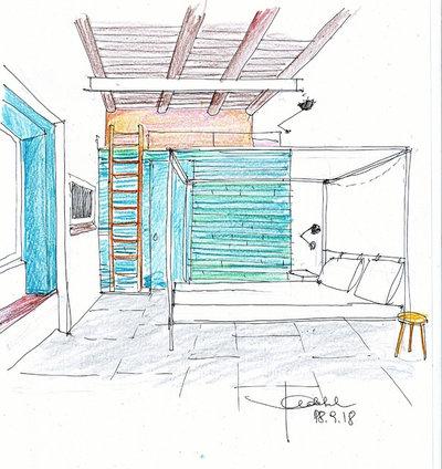 Prospetto interno by Paola Sola architetto &interior design