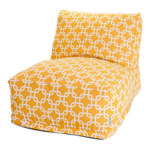 Small 85907220131 Majestic Home Goods Yellow Links Cube