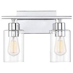 Transitional Bathroom Vanity Lighting by Designer Lighting and Fan