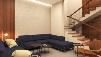 Living Room Visual Design