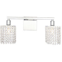 Phineas 2-Light Wall Sconce, Chrome