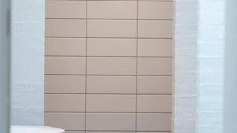 Huse og flisearbejde, badeværelser