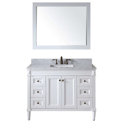 Spectacular Transitional Bathroom Vanities And Sink Consoles by Burroughs Hardwoods Inc