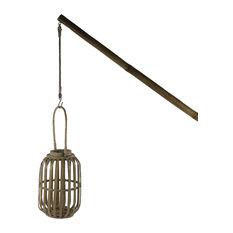 Pomax Party Bamboo Hanging Lantern