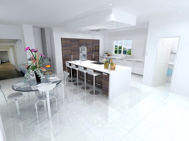 Contemporary  by LWK Kitchens London
