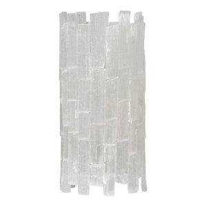 Selenite Table Lamp 5.5x5.5x11