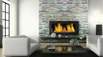 Fireplace Ledgestone/Stacked Stone Slate