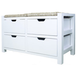 Beach Style Accent And Storage Benches by Davis Bargains