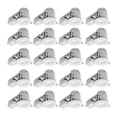 50 most popular contemporary recessed lights for 2018 houzz globe electric white recessed lighting kit 20 pack 4 recessed aloadofball Images