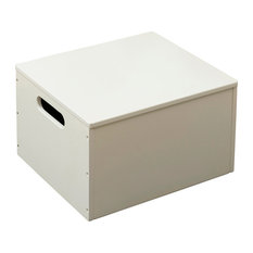 Stackable Sorting Box, Soft White