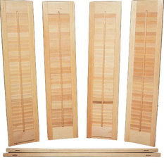 Southern Shutter   Interior Shutter Kit, Unfinished Wood   Interior Shutters