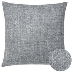 Industrial Decorative Pillows by Houzz