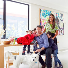 Houzz Tour: The Cool Family Home of Funnyman Dave Hughes