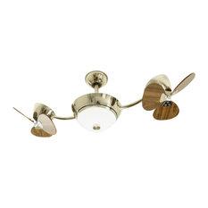 eFan Ceiling Fan, Walnut