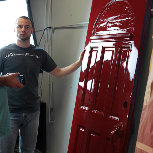 Beau Fine Paints Of Europe High Gloss Red Door