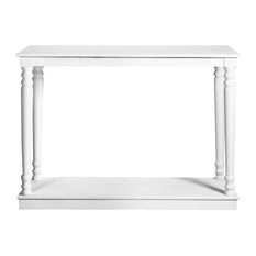 Oxford Console Table, White