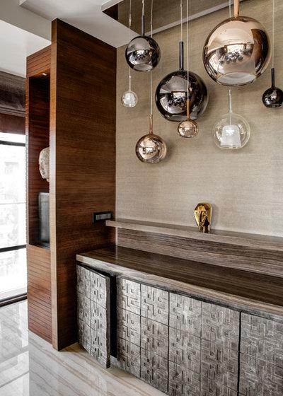 Contemporary  by Rakeshh Jeswaani Interior Architects