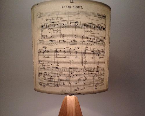 Music Note Shades - Lamp Shades