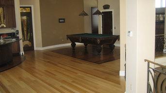 Taz Oak & Ebony Billiard Room