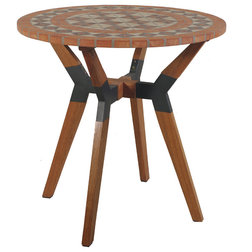 Midcentury Outdoor Pub And Bistro Tables by Outdoor Interiors