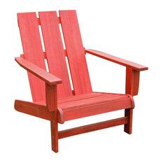 Residence   Cape Cod Adirondack Chair, Red   Adirondack Chairs