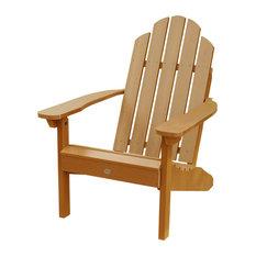 Classic Westport Adirondack Chair, Toffee