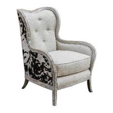 "Uttermost Chalina - 42"" Arm Chair"