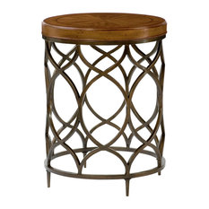 Hammary Hidden Treasures Round Lamp Table