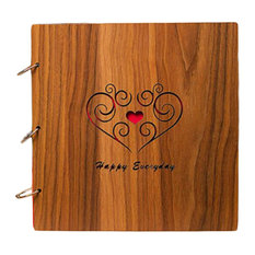 "16"" Photo Scrapbooking Wooden Photo Album Photo Collection"