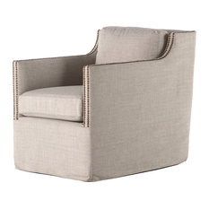 Four Hands Furniture   Kensington Lucca Swivel, Bennett Moon   Armchairs  And Accent Chairs