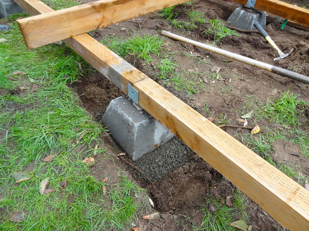 How to build a deck for How to make a decking platform