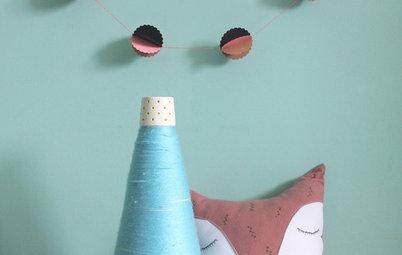 Hazlo tú mismo: Unas guirnaldas para la habitación de los niños