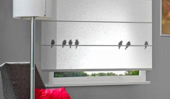 Fensterdekoration im Japanischen Stil