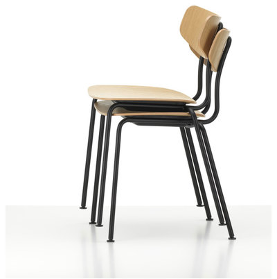 Moca Stacked chair by Jasper Morrison by Vitra