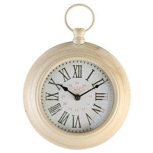 EMDE Ring Wall Clock, White