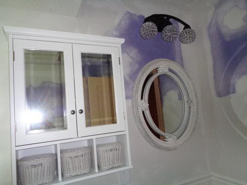 Vanity Lights Installed Too High Above Mirror