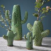 Ceramic Cactus Vases