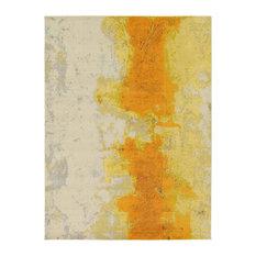Unique Loom Yellow Estrella Rustic 9' 0 x 12' 0 Area Rug