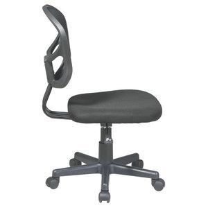 Seat Height Adjustable Nylon Office Desk Chair