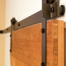 Real Carriage Door U0026 Sliding Hardware   Prop Barn Door Hardware Kit, Modern  Style ,