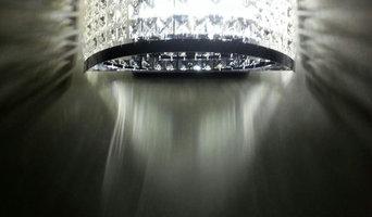 Lampade da parete in cristallo